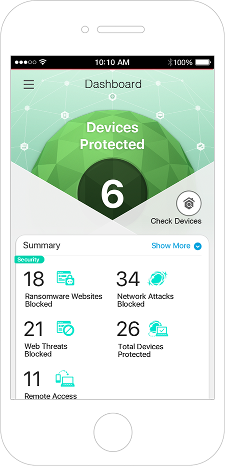 Trend Micro Home Network Security Application on Your Mobile Phone Image